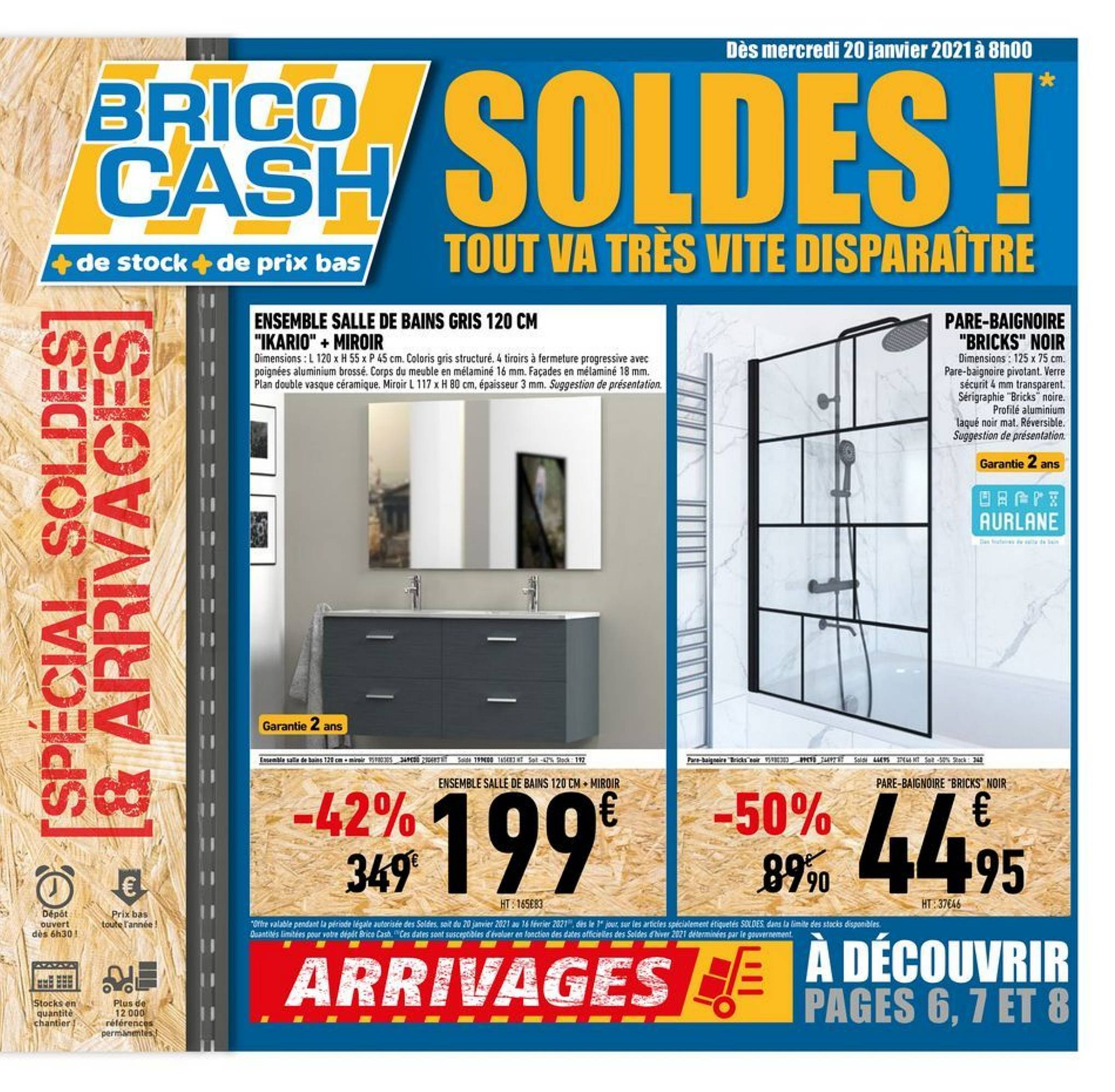 Brico Cash - Catalogue, Réduction Et Code Promo Février 2021 serapportantà Abri De Jardin Brico Cash